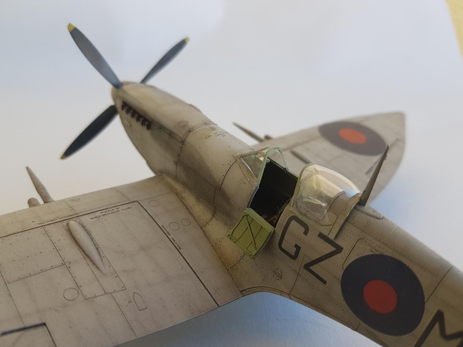 Spitfire Mk.VIII HF Eduard 1/48 - Page 2 2019-065