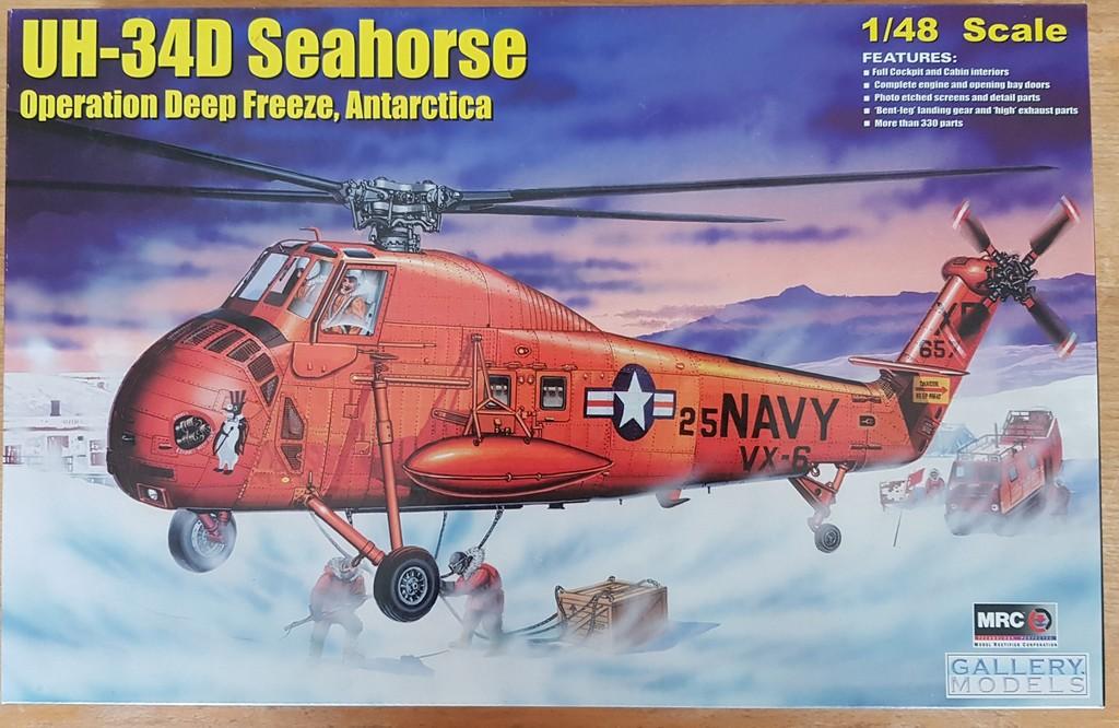Sikorsky UH-34D Seahorse (Gallery Models/MRC 1/48) 2019-102