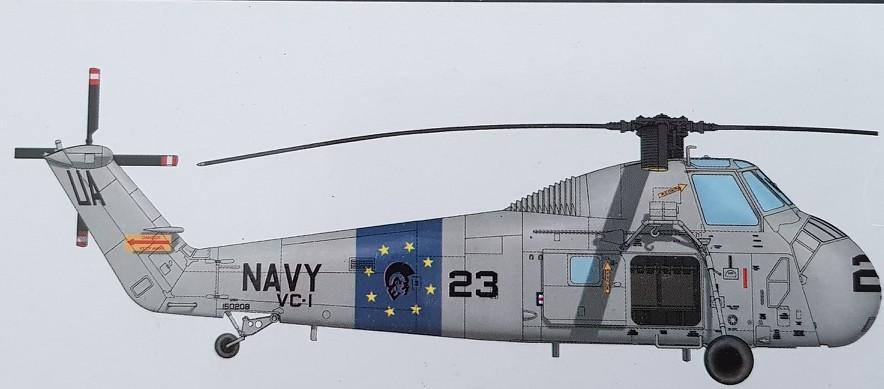 Sikorsky UH-34D Seahorse (Gallery Models/MRC 1/48) 2019-103