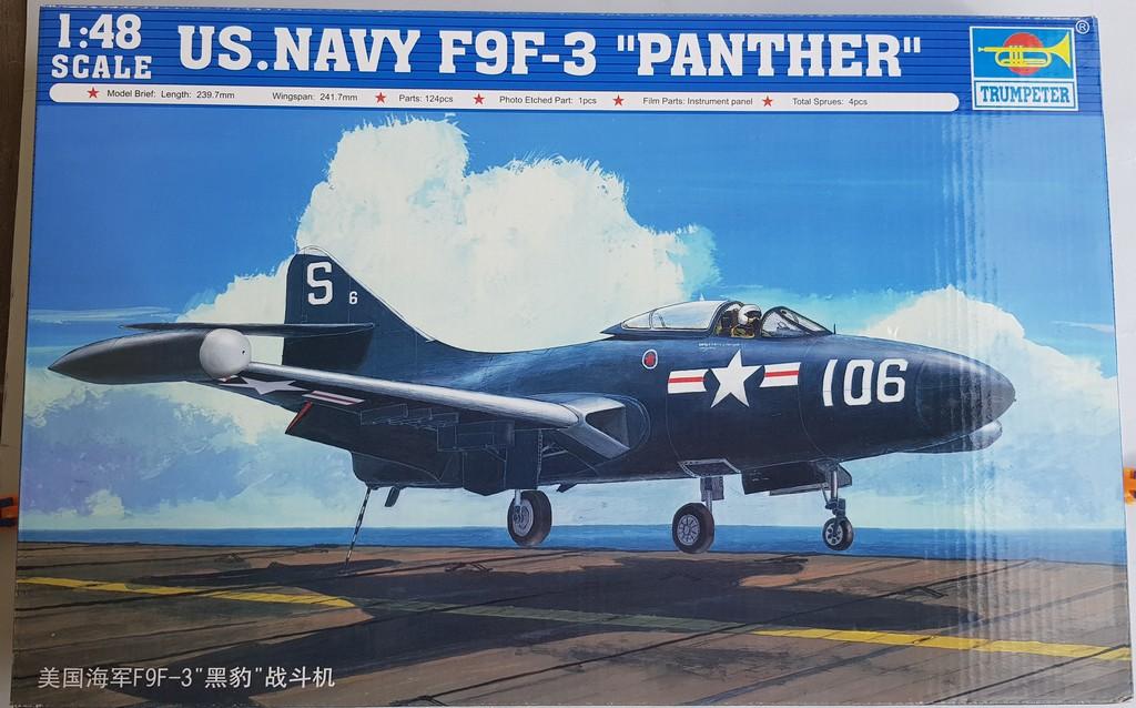 Grumman F9F-3 Panther (Trumpeter 1/48) F9f-0110