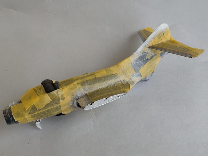 Grumman F9F-3 Panther (Trumpeter 1/48) F9f-2110