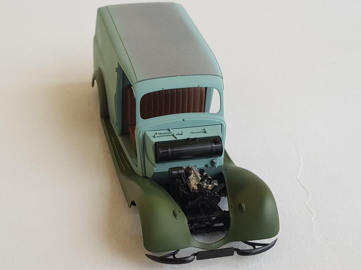 Camionnette Mercedes 170V (MiniArt au 1/35) - Page 2 Montag43