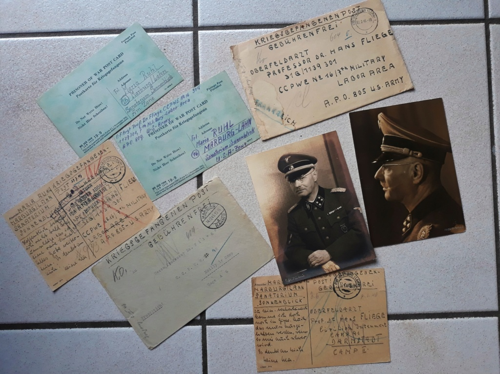 documents SS Hans Fliege 20181156