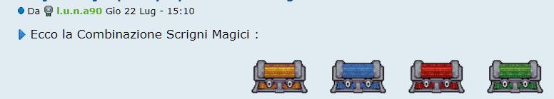 [SPECIAL GAME] Esito: Scrigni Magici! Combin10