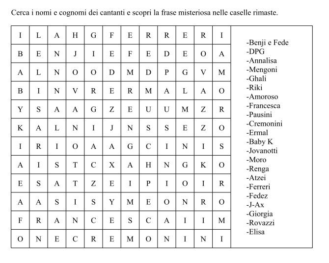 [SPECIAL GAME] Missione: Labirinto e CruciPuzzle! Crucip19