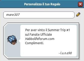 [HLF GAME] Esito Summer Trip #1 Mare3012