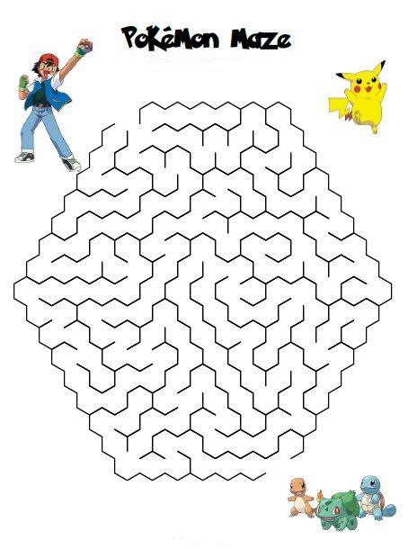 [HLF GAME] Missione Tempo Libero: Labirinto Pikachu! Maze_p10
