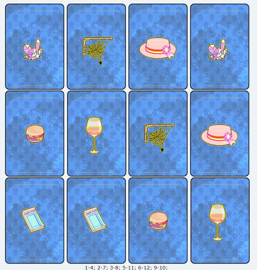 [SPECIAL GAME] Esito: Memory! Memory10