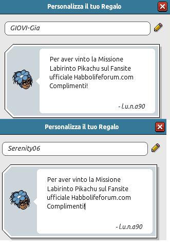[HLF GAME] Missione Tempo Libero: Esito Labirinto Pikachu! Pacchi12