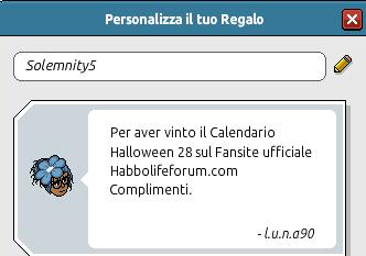 [CALENDARIO] Halloween: Esito giorno 29! Piccol10