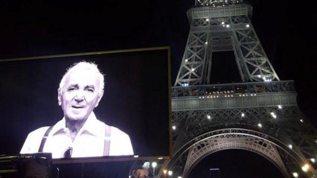 Hommage à Charles Aznavour B9717110