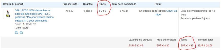 acheter sur bangood - Page 2 Taxes10