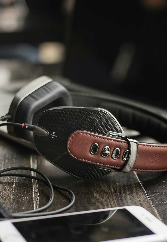 Sonus Faber Headphone Pryma - Carbon Marsala Carbon11