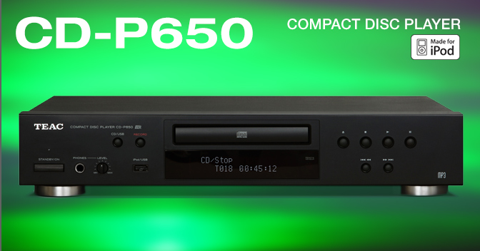 Teac CD-P650 Compact Disc Player  Main11