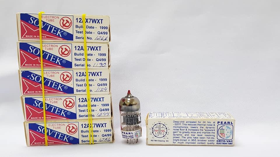 Sovtek Pearl Cryo-Vac 12AX7WXT/ECC83 Valves (NOS) Sovtek11