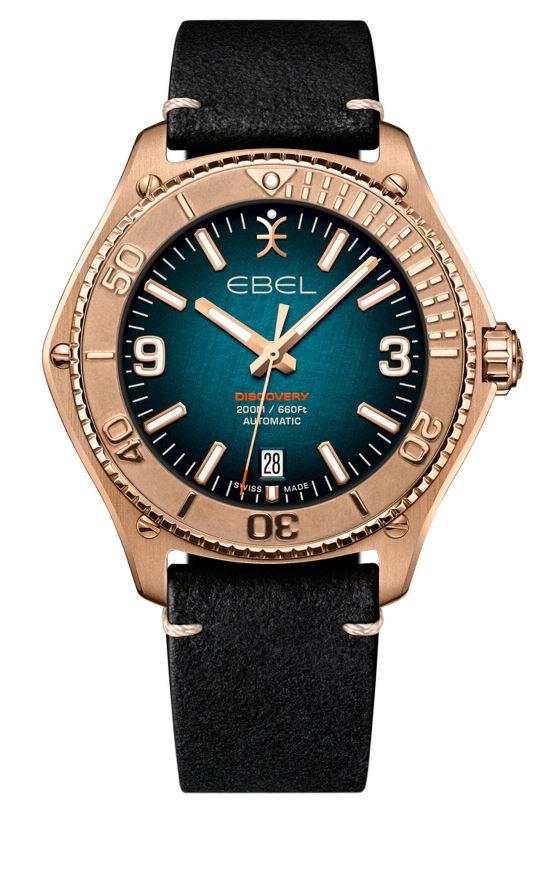 Nouveauté : Ebel Discovery Bronze Et Acier  Eb410