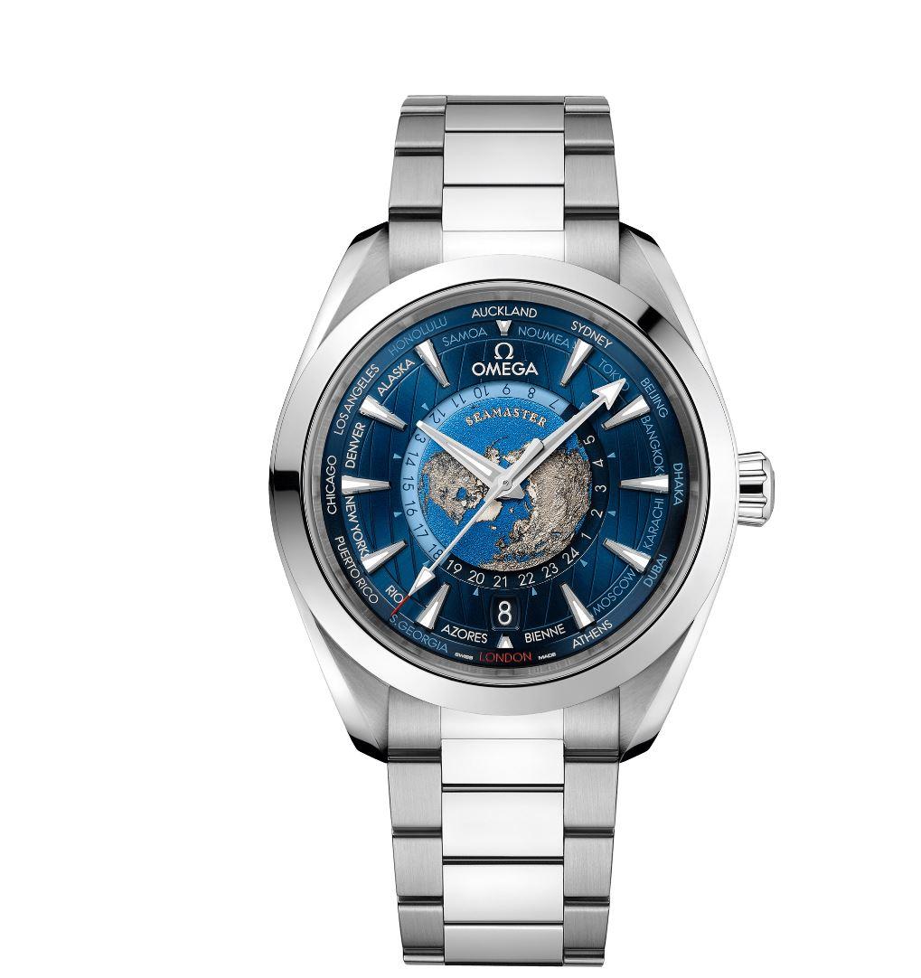 News : Omega Seamaster Aqua Terra Worldtimer W111