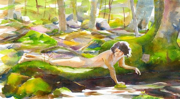 Quel élément de la nature est le plus sensuel pour vous ? Forest10