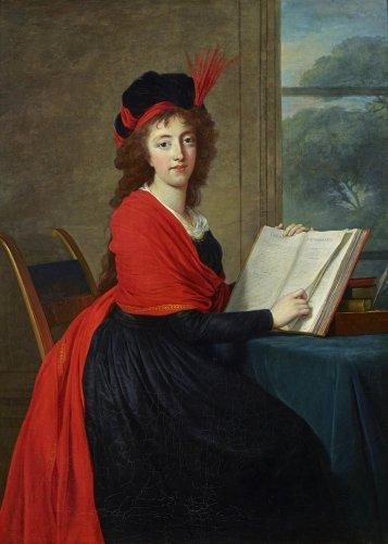 Un portrait d'Elisabeth Vigée le Brun pour le Brooklyn Museum Vigee-10