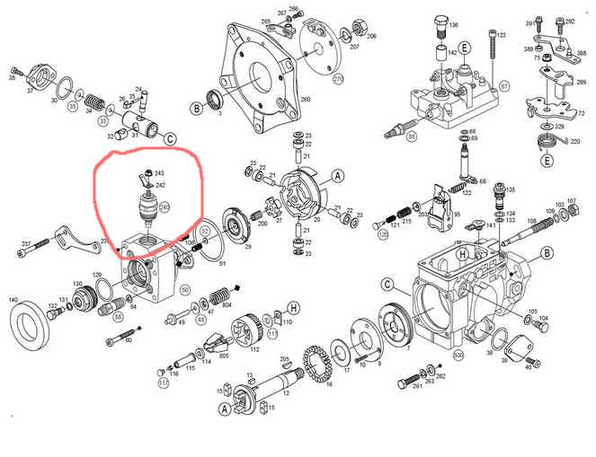 [ Ford transit 2.4 diesel an 1978 ] moteur qui à redémarrer Pompe_10