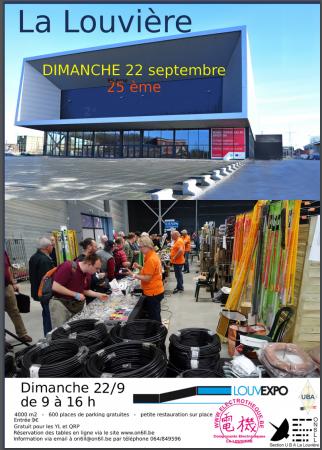 Foire Louvexpo 2019 à la Louvière (Belgique) (22/09/2019) Radioa11