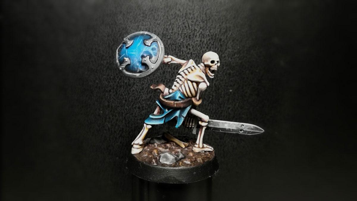Peinture sur figurine Finale10