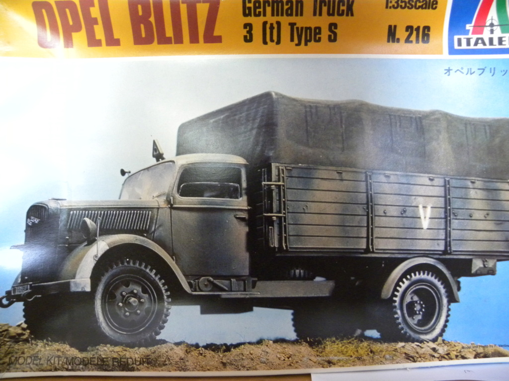 [ITALERI] Opel blitz type s Dscn8530