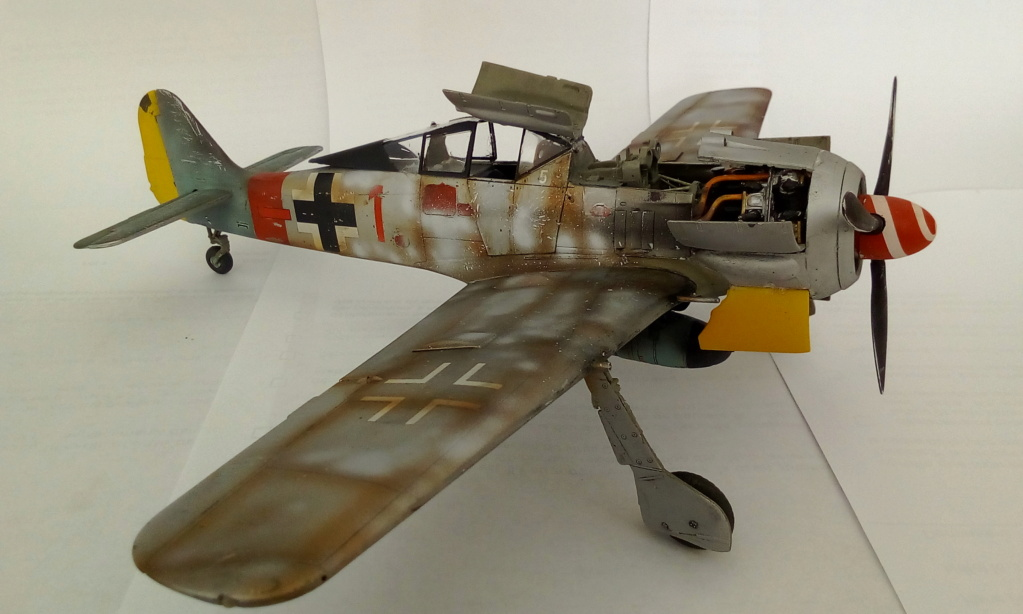 [REVELL] FOCKE WULF Fw 190  A8/R2 version metalique Réf 03874 Img_2176