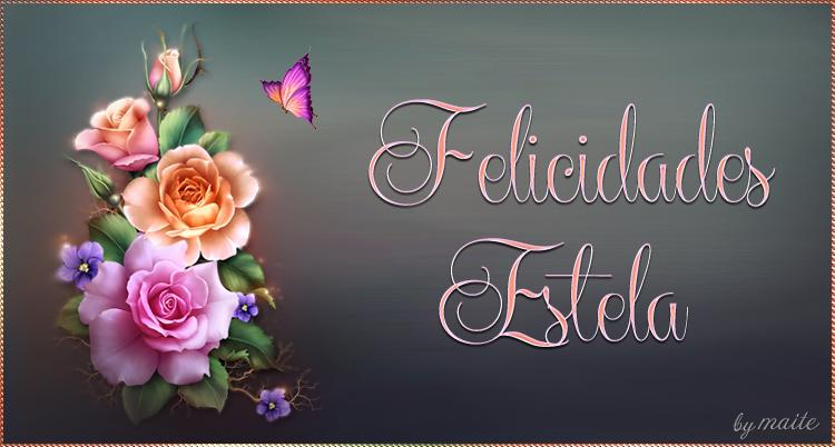 FELIZ CUMPLEAÑOS ESTELA 12 / SEPTIEMBRE/2018 Estela10