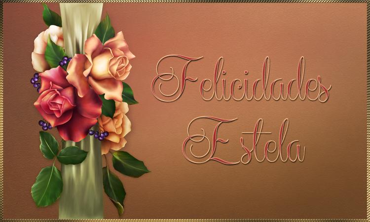 FELIZ CUMPLAÑOS ESTELA / 12/9 / 2019 Estela12