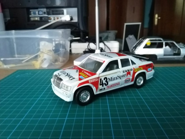 Mercedes 190e 2.3 16v mira 410