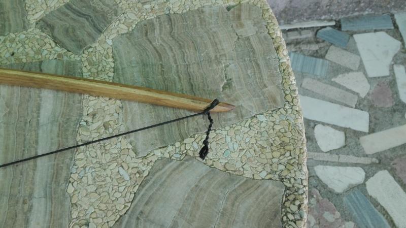Arco de bambu y aligustre para el intercambio de arcos. Img_2080