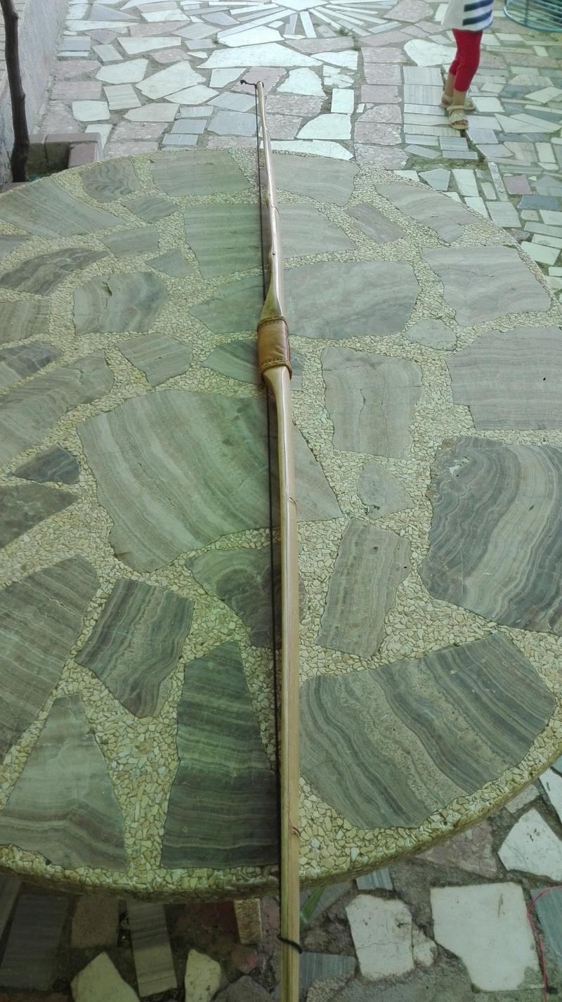 Arco de bambu y aligustre para el intercambio de arcos. Img_2082