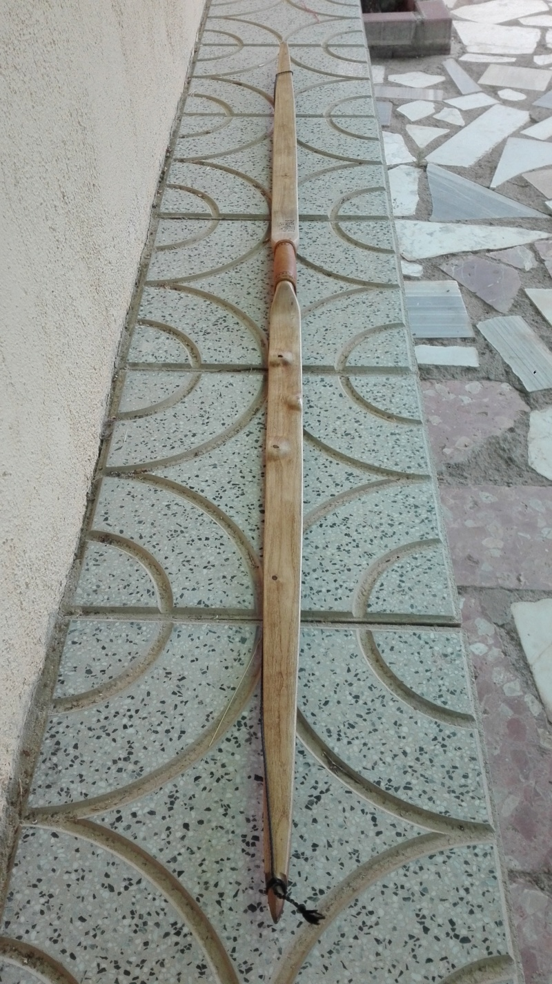 Arco de bambu y aligustre para el intercambio de arcos. Img_2084
