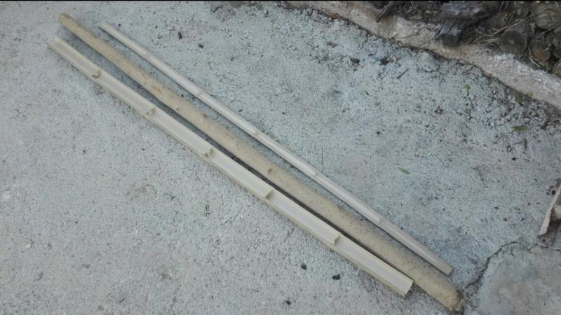 Arco de bambu y aligustre para el intercambio de arcos. Screen16
