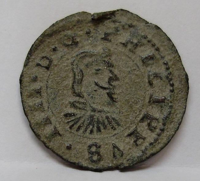 4 maravedís de Felipe IV, 1662 La Coruña 111