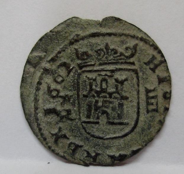 4 maravedís de Felipe IV, 1662 La Coruña 211