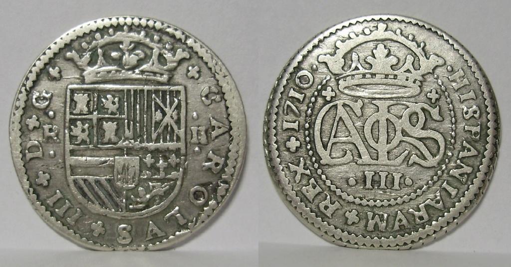 Monedas de la guerra de Sucesión 514
