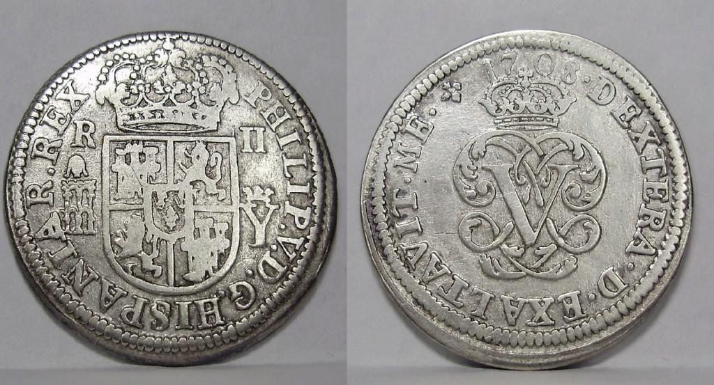 Monedas de la guerra de Sucesión 612