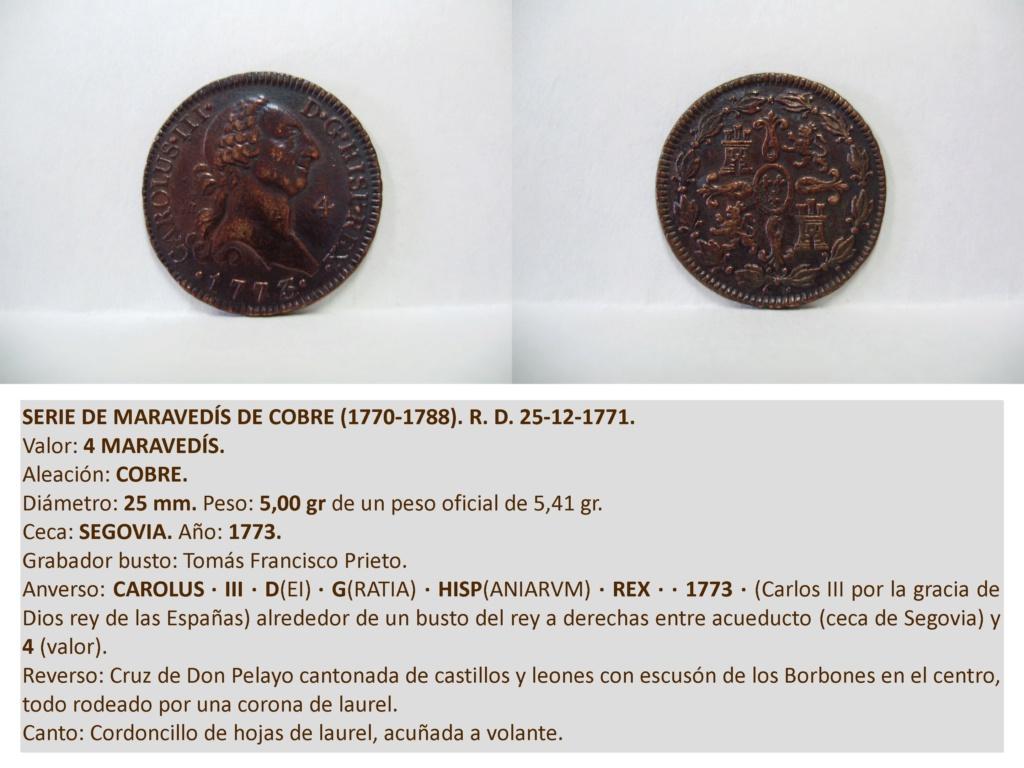4 maravedís de Carlos III de 1779. Carlos18