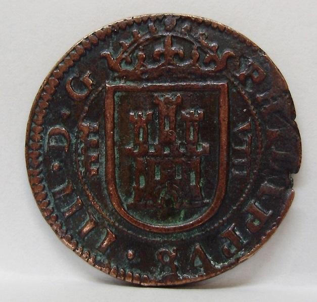 8 maravedís Felipe IV Segovia 1626 Felipe15