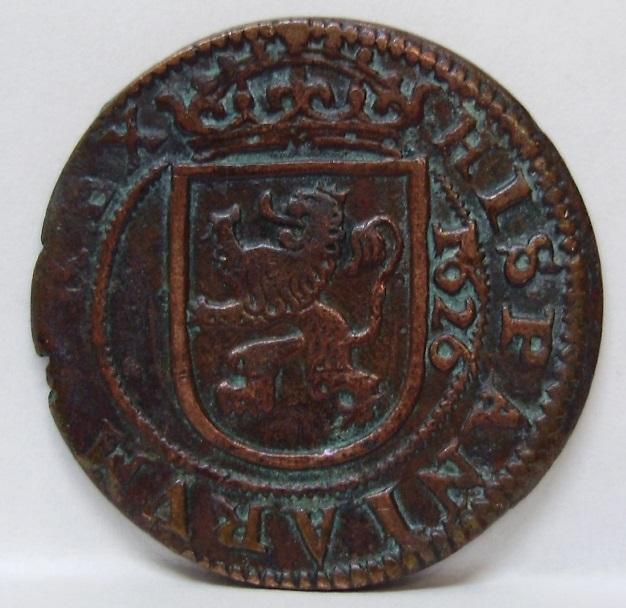 8 maravedís Felipe IV Segovia 1626 Felipe16