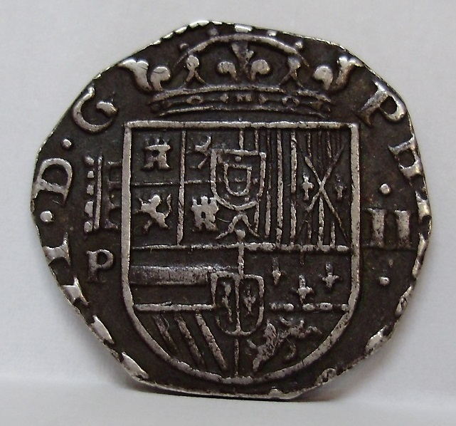 2 reales Felipe IV 1627 Felipe17