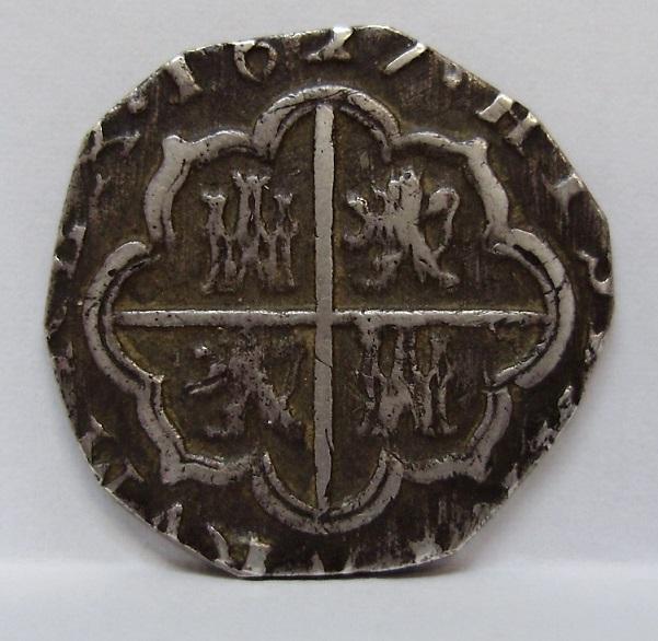 2 reales Felipe IV 1627 Felipe18