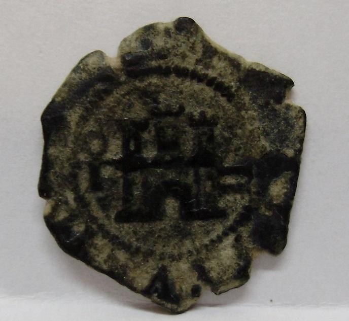 2 maravedís de Felipe III de Toledo, 1602. Felipe21