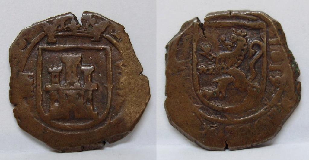 8 maravedís de Felipe III, Segovia 1619 Felipe33