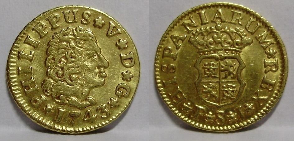 Medio escudo Felipe V Felipe36