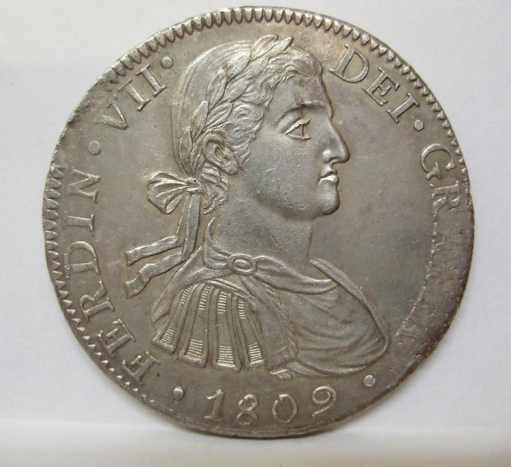 8 Reales 1808. Fernando VII. Méjico TH  Fernan14