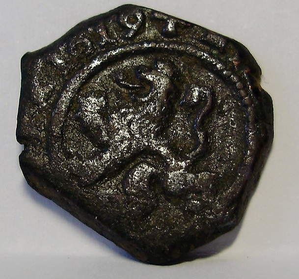 4 Maravedís de Felipe III, de Burgos, 1619. R10