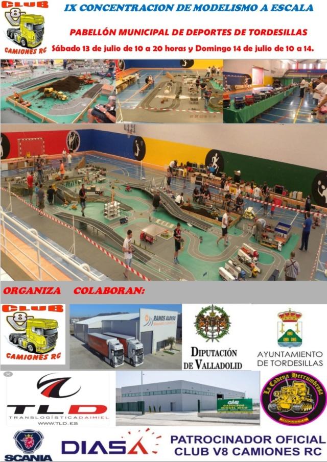 IX Concentracion de modelismo a escala aerodromo de matilla 13 y 14 de Julio 2019 Cartel10